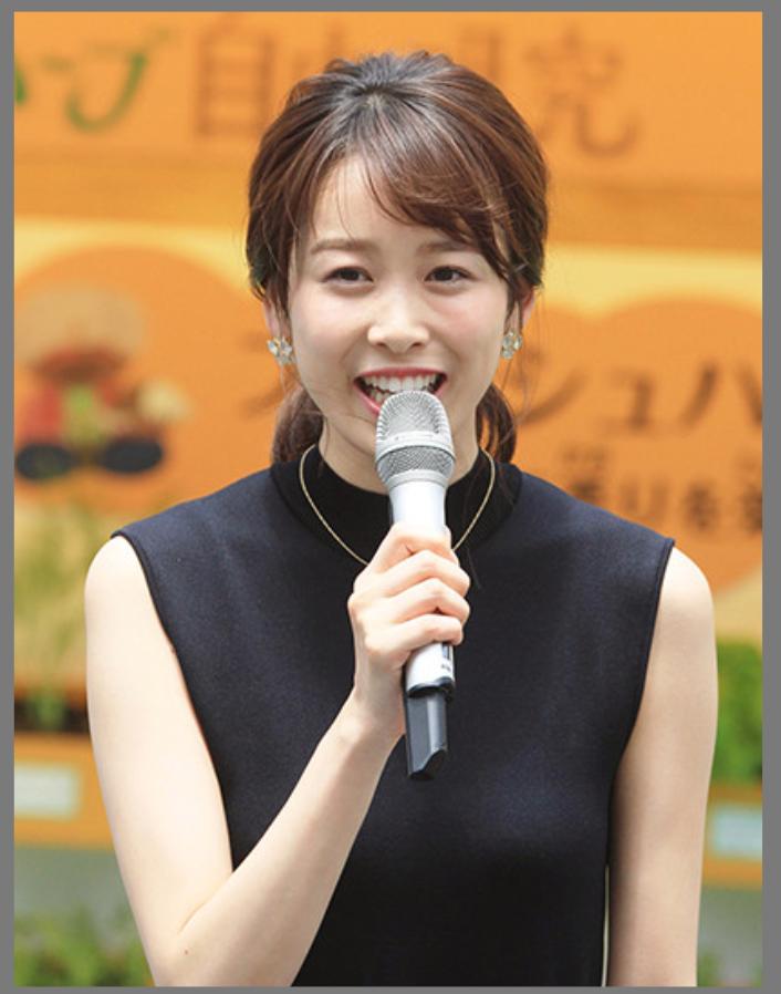 カトパン(加藤綾子)と良原安美アナが似てる