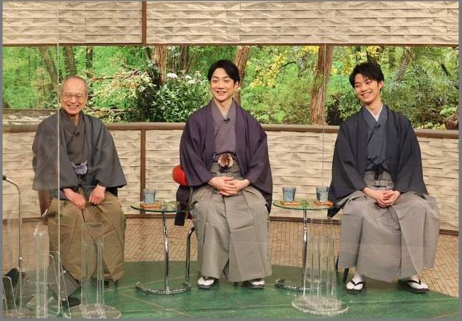 顔がでかい野村彩也子の父野村萬斎さんと野村万作さんと野村裕基さん