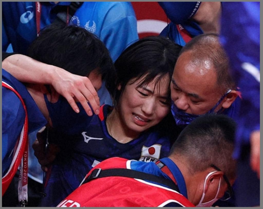 東京オリンピック代表 女子バレーボール 古賀紗理那 怪我 転倒 ケニア戦 捻挫